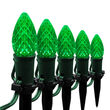 "OptiCore TM C7 LED Walkway Lights, Green, 4.5"" Stakes"