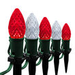 "OptiCore C7 LED Walkway Lights, Cool White / Red, 4.5"" Stakes, 50'"