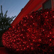 4' x 6' 5mm LED Net Lights, Red, Green Wire