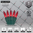 4' x 6' Net Lights, Red, Green Wire