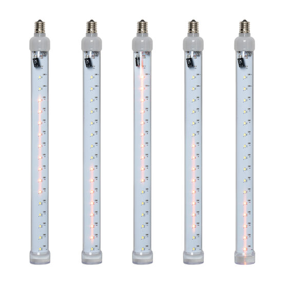 T8 Grand Cascade SMD LED Light Tubes, Amber, E17 Base