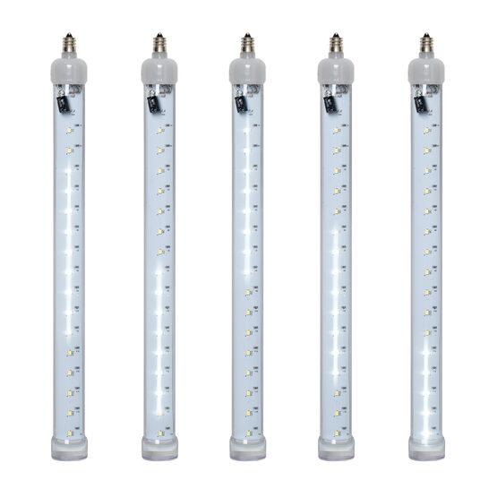 T8 Grand Cascade SMD LED Light Tubes, Cool White, E12 Base