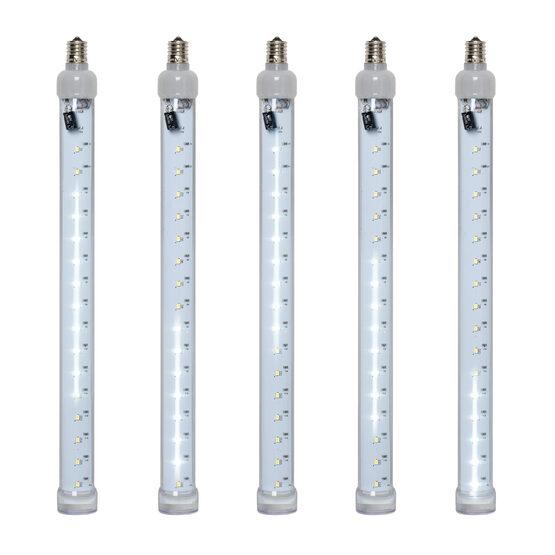 T8 Grand Cascade SMD LED Light Tubes, Cool White, E17 Base
