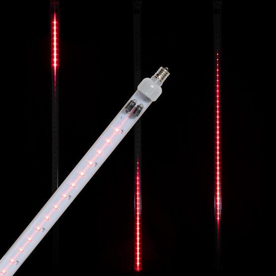 T8 Grand Cascade SMD LED Light Tubes, Red, E17 Base