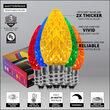 C7 OptiCore LED Light Bulbs, Multicolor