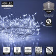 Cool White LED Outdoor Fairy String Lights, Silver Wire