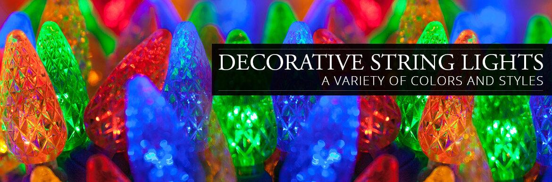 decorative string lights - Decorative String Lights