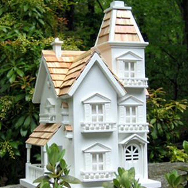 Victorian Backyard Birds : Victorian bird houses
