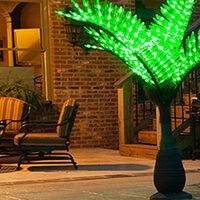 Lighted Palm Tree Decor