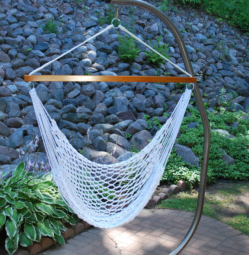 how to hang a hammock chair - yard envy