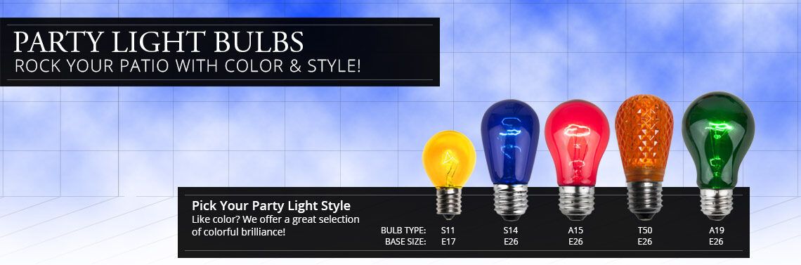 Party Light Bulbs