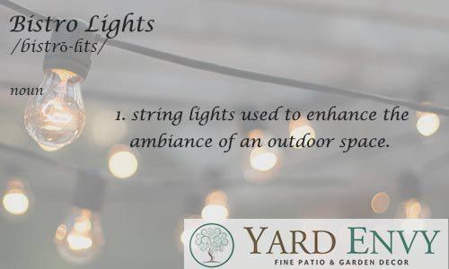 Bistro Lights ideas