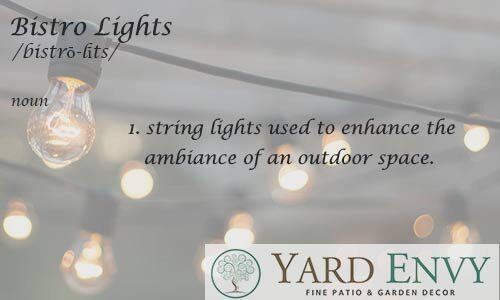 Bistro Lights ideas