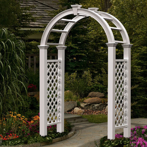 Complete your secret garden and decorate the yard with a stunning arbor