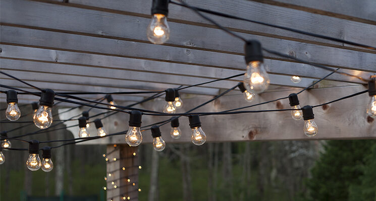 Hanging Patio String Lights: A Pattern Of Perfection