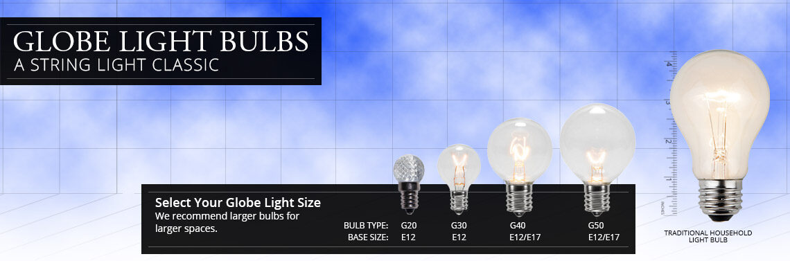 Outdoor patio light bulbs