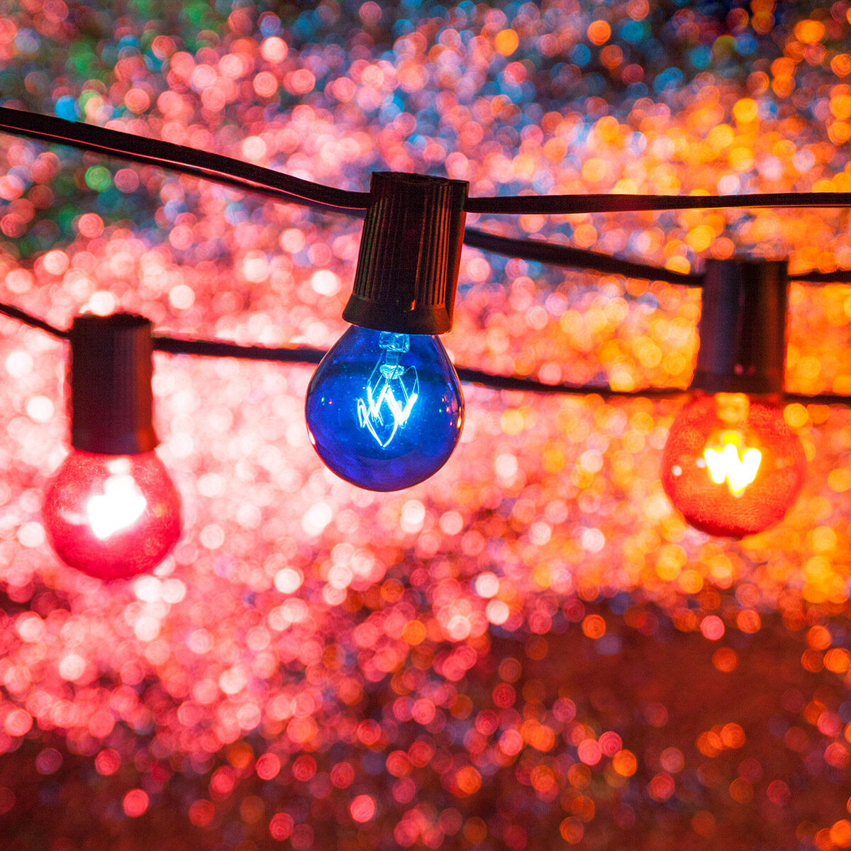 Colorful Party Lights