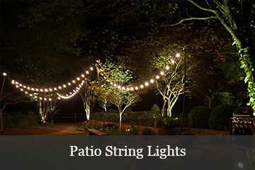 Backyard Lighting With Patio String Lights