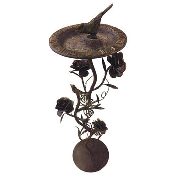 Tell time the old fashioned way while adding decorative interest to your garden!