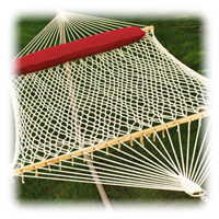 Medium image of 2 person cotton rope hammock