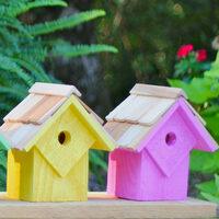 Summer Beach Huts Bird Houses