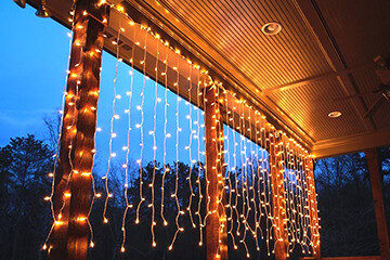 Best Ever Backyard Lighting - String Lights