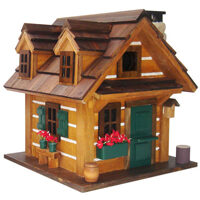 Rustic Retreat Hanging Bird House