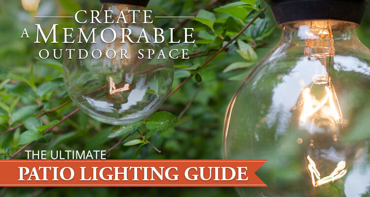 patio lighting guide