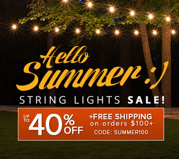 String Lights Sale!