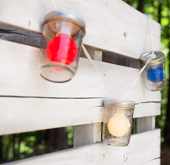 Red, White and Blue Patriotic Party Lights