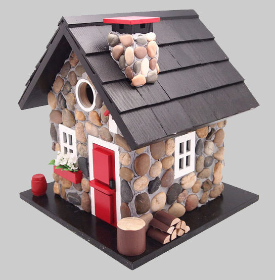 Decorative Windy Ridge Cabin Bird House