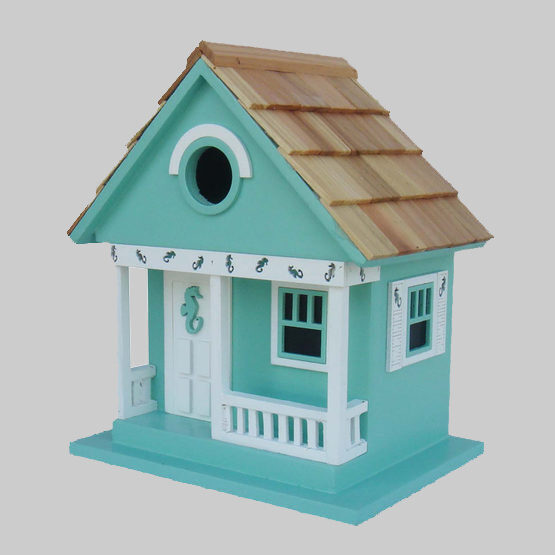 Sea Horse Cottage Ocean Inspired Bird House