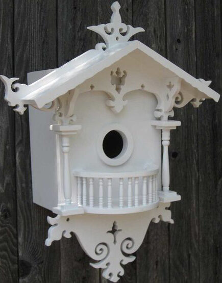 Bird House for Flycatchers and Common Backyard Birds