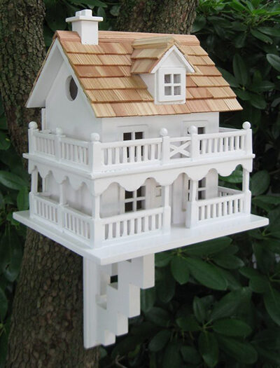 Cape Cod Style Decorative Bird House