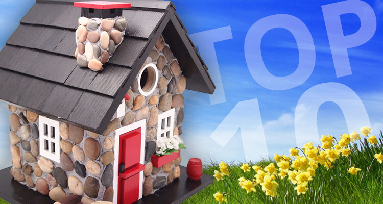 Our Top Ten Most Popular Decorative Bird House Based on Customer Picks!