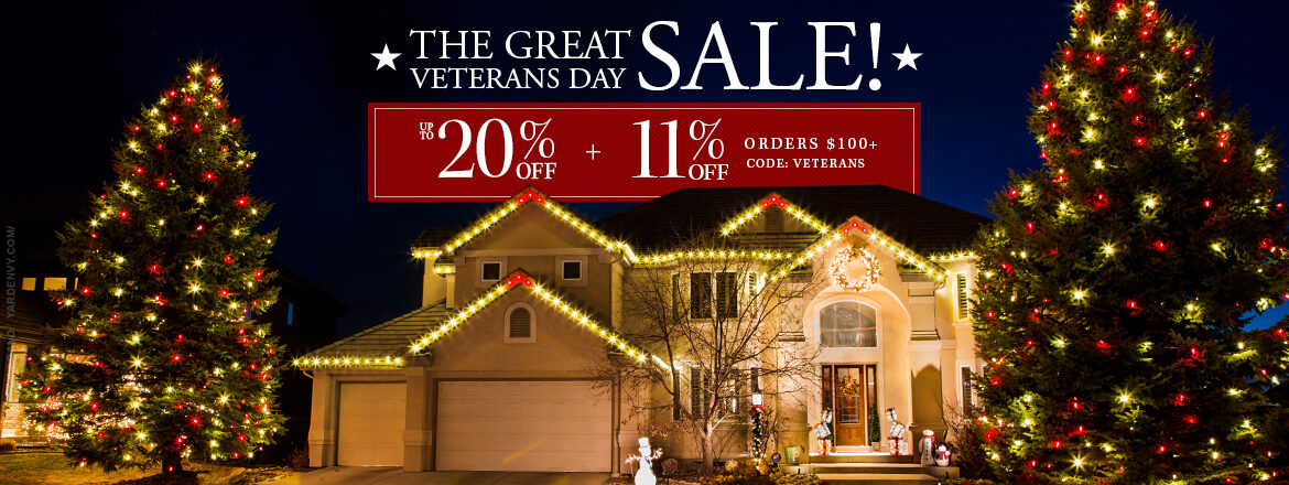 The Great Veterans Day Sale!