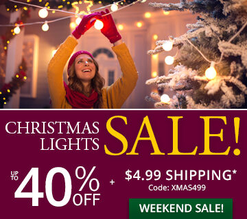 Great Christmas Lights Sale!