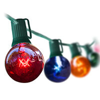 Multicolor Globe String Lights