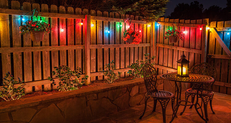 Beautiful Patio Lights