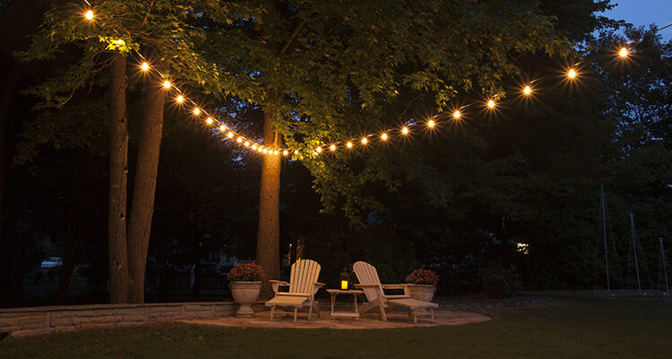 Hanging Patio String Lights Is Easy   First, Pick A Pattern!