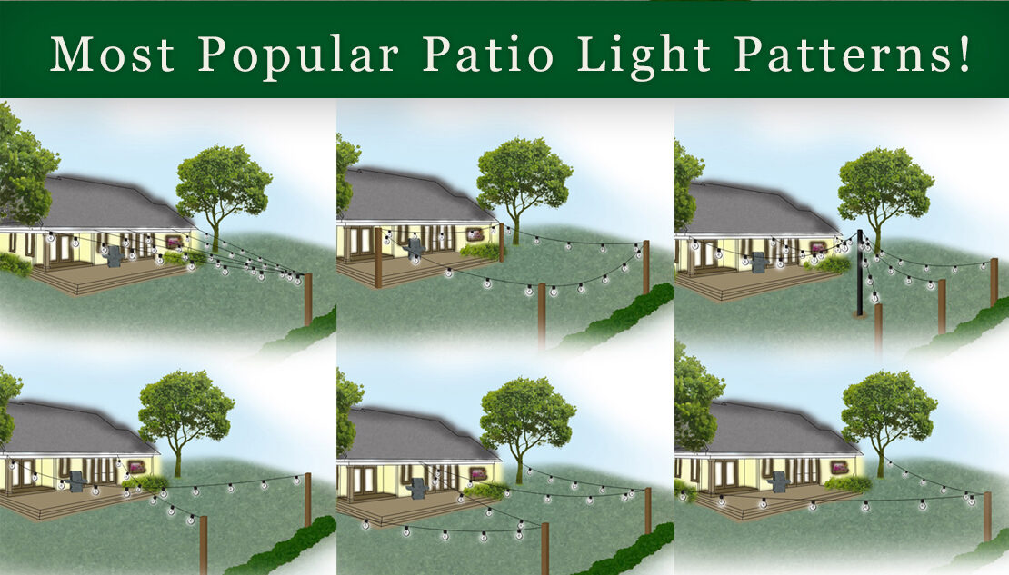 patio light patterns