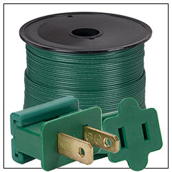 Green Electrical Wiring Accessories