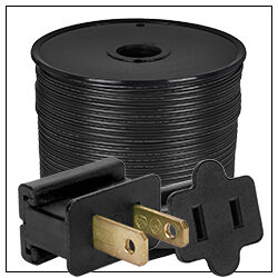 Black Electrical Wiring Accessories