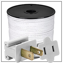 White Electrical Wiring Accessories