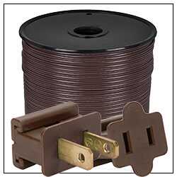 Brown Electrical Wiring Accessories