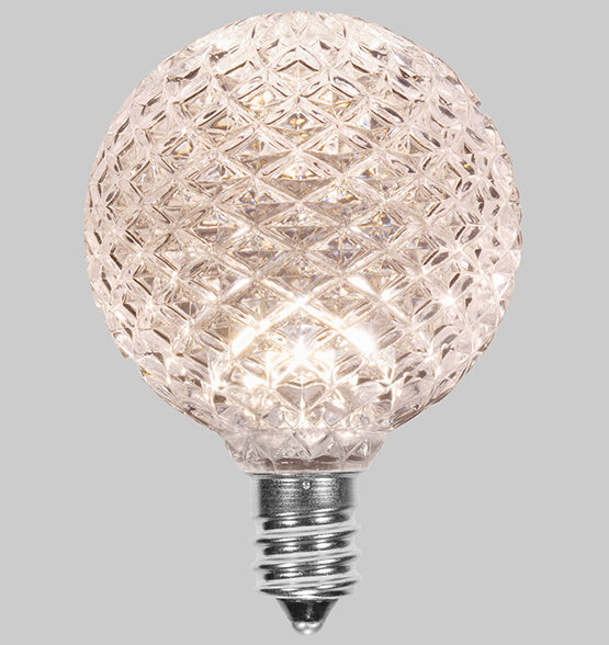 Faceted Patio Light Bulb