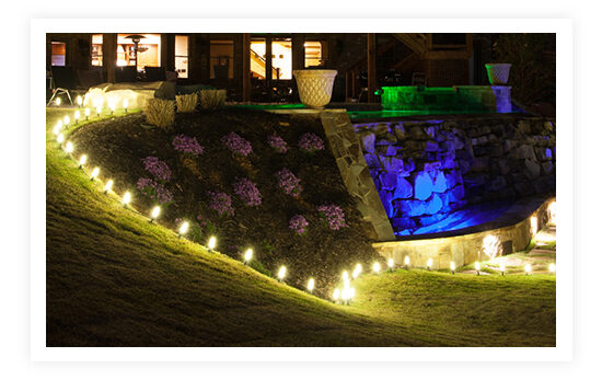 Pathway Patio String Lights