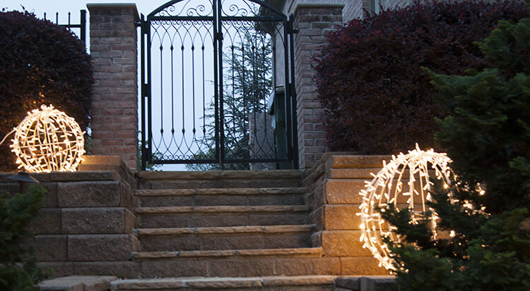 Light Ball Walkway Lights