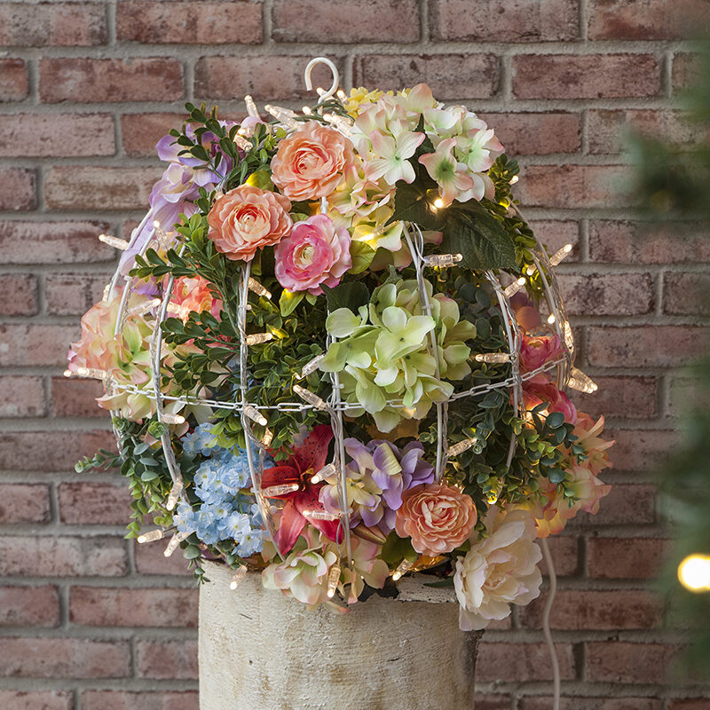 Flower Light Ball Topiary