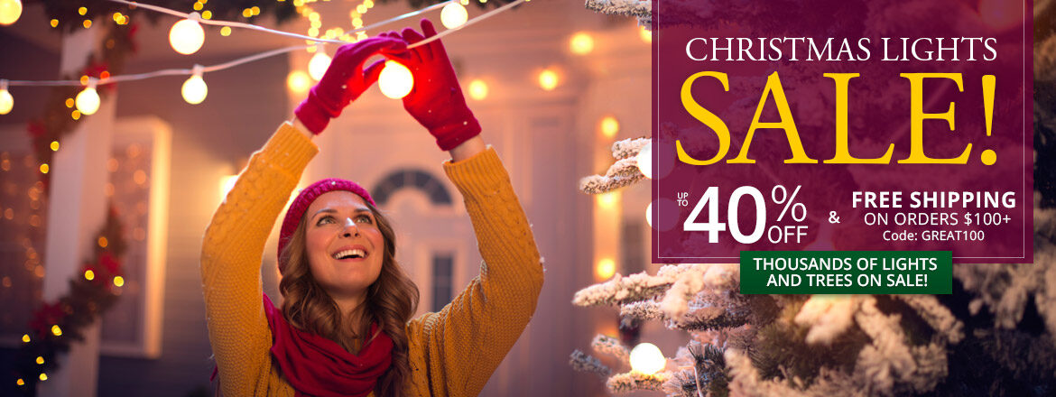 The Great Christmas Lights Sale!